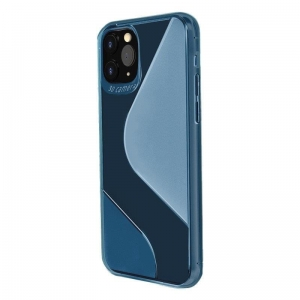 S-Case etui TPU do Xiaomi Redmi Note 9 Niebieski