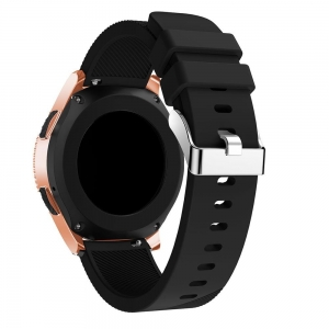 Pasek Smooth Amazfit GTS Bip GTR BLK Czarny 42mm Tech-Protect