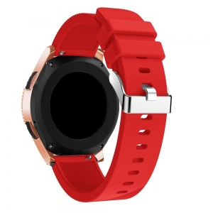 Pasek Smooth Amazfit GTS BIP GTR RED Czerwony 42mm Tech-Protect