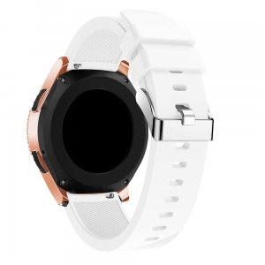 Pasek Tech-Protect Smooth Amazfit GTS Bip WHT 42mm