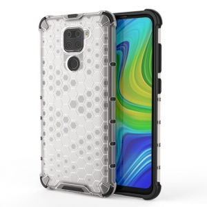 Honeycomb etui do Xiaomi Redmi Note 9 Przezroczyst
