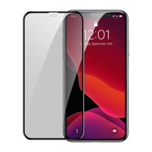 Szkło Baseus 2x do iPhone 11 XR Full Screen 0.3mm 9H Anti-Spy SGAPIPH61S-WC01