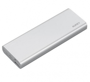 Aukey PB-AT20 Powerbank 20100mAh 5.4A QC3.0 Silver