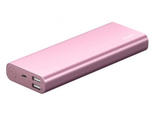 Aukey PB-AT20 Powerbank 20100mAh 5.4A QC3.0 Pink