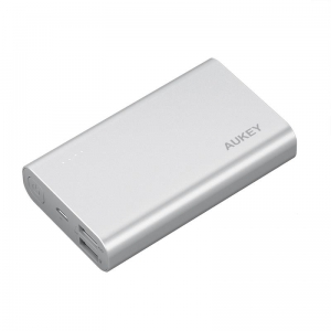 Aukey PB-AT10 Powerbank 10050mAh 5.4A QC3.0 Grey