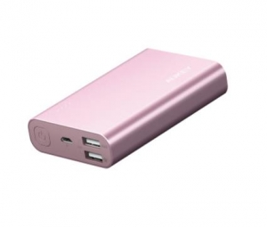 Aukey PB-AT10 Powerbank 10050mAh 5.4A QC3.0 Pink