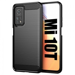 Carbon Case Etui do Xiaomi Mi 10T / Pro Czarne