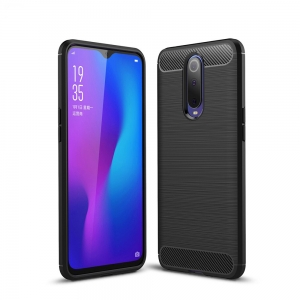 Ipaky Drawing Carbon Oppo RX17 Pro Czarne