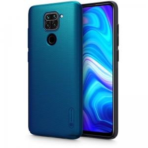 Nillkin Frosted Shield Xiaomi Redmi Note 9 Niebieskie