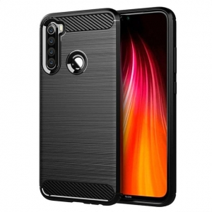 Carbon Case Etui Xiaomi Redmi Note 8 Snap Czarne