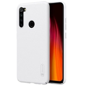 Etui Nillkin Frosted Shield Redmi Note 8 Białe