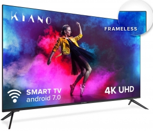 "Telewizor KIANO 50"" 4K UHD Smart TV Frameless HDR10 Android 7.0 TV002-1 SmartTV"