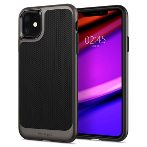 Spigen Neo Hybrid etui do Iphone 11 Gunmetal