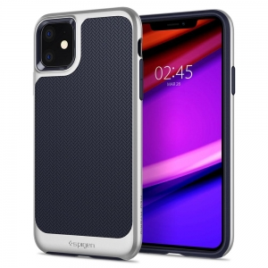 Spigen Neo Hybrid etui do Iphone 11 Arctic Silver