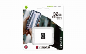 Kingston Canvas Select Plus SDCS2/32GB class 10 a1