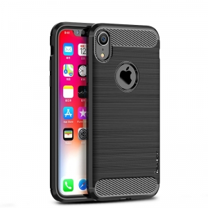 Etui Ipaky Drawing Carbon Iphone XR Czarne