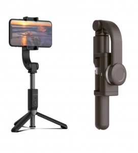 Evelatus Universal Tripod Stand with Bluetooth Smart Stabilizer ETS01 Black