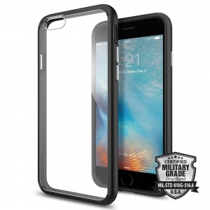 Spigen Ultra Hybrid etui iPhone 6 / 6s (4.7) Black