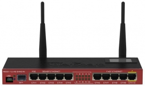 MikroTik Router MikroTik RB2011UiAS-2HnD-IN (xDSL; 2,4 GHz)