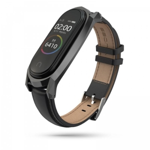 Opaska Mi Band 5 Tech-Protect Herms Czarna