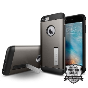 Spigen Slim Armor Iphone 6 / 6S (4.7) Gunmetal