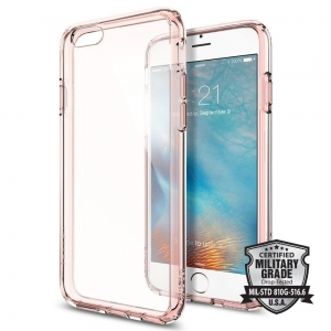 Spigen Ultra Hybrid etui iPhone 6 / 6s (4.7) Rose Crystal