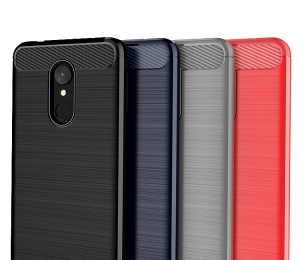 Etui Ipaky Slim Carbon Xiaomi Redmi 5 Plus