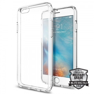 Spigen Ultra Hybrid etui iPhone 6 / 6s (4.7) Clear